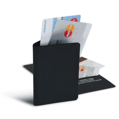 Herma hoes: 2 credit cards, 60 x 96 mm - Zwart
