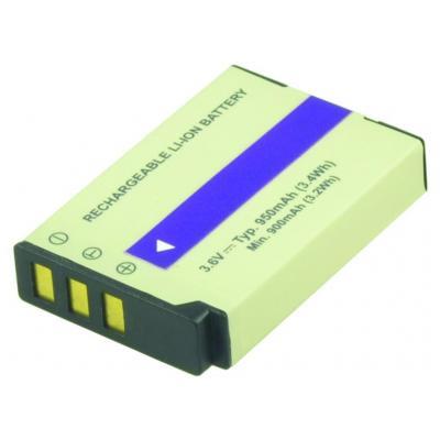 2-Power DBI9993A Batterijen voor camera's/camcorders