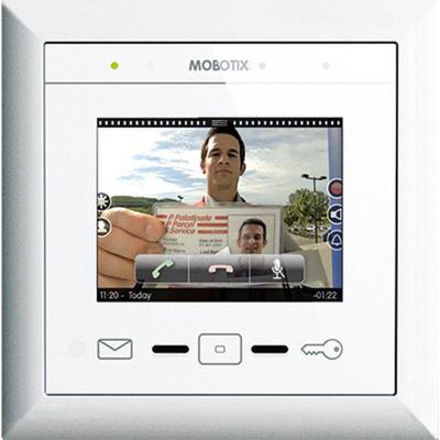 Mobotix MX-DISPLAY3 Beveiligingscamera bevestiging & behuizing - Wit
