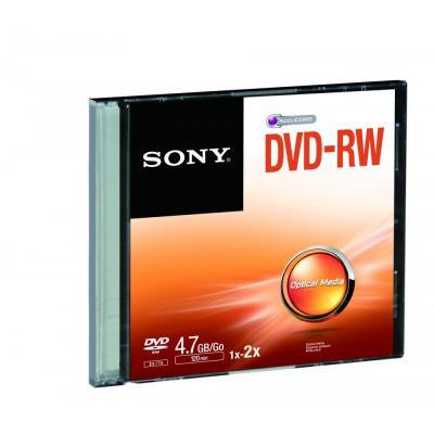 Sony DVD: Capaciteit maximaal 4,7 GB, 7 keer de capaciteit van een cd-r-schijf ter grootte van een cd Tot 1000 keer .....
