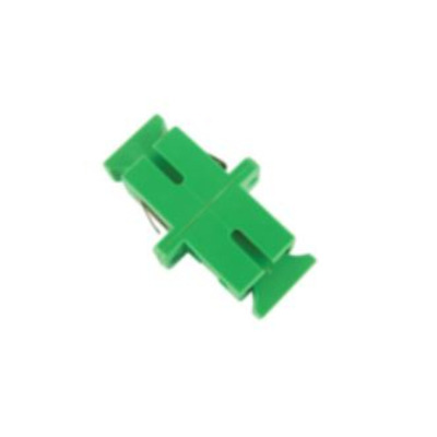 Microconnect SC/APC simplex adapter Kabel adapter - Groen