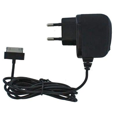 Mobilize Wall Charger, 1A, Apple 30-pin, Black Oplader - Zwart