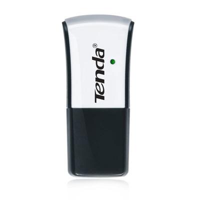 Tenda W311M - 802.11b/g/n, 2.4Ghz, 150Mbps, 2dbi, USB 2.0, EU Netwerkkaart - Zwart,Wit