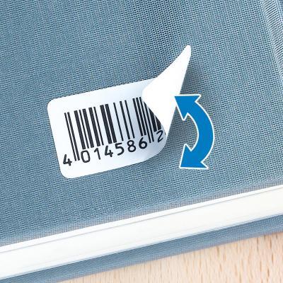 Herma etiket: Removable labels A4 25.4x10 mm white Movables/removable paper matt 4725 pcs. - Wit