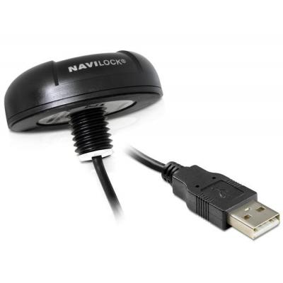 Navilock GPS ontvanger module: NL-8004U - Zwart