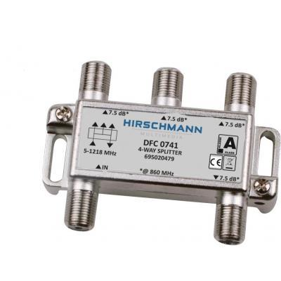 Hirschmann DFC 0741 Kabel splitter of combiner - Metallic