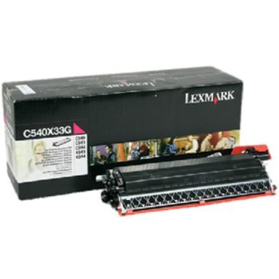 Lexmark C54x, X54x 30K magenta developer unit Ontwikkelaar print