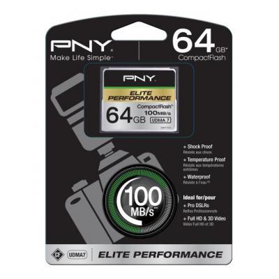 PNY CompactFlash 64GB Flashgeheugen