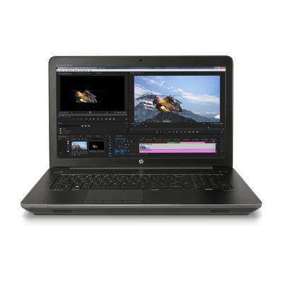 Hp laptop: ZBook ZBook 17 G4 mobiel workstation - Zwart