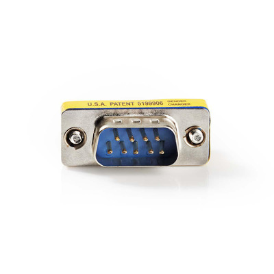 Nedis D-Sub-koppeling, D-Sub 9-pins male - D-Sub 9-pins male, Metaal Kabel adapter
