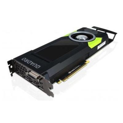 Lenovo ThinkStation Nvidia Quadro P5000 DPx4, DVI-D x1 16GB GDDR5 Videokaart