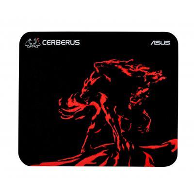 ASUS Cerberus Mat Mini Muismat - Zwart, Rood
