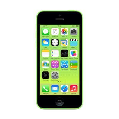 Apple smartphone: iPhone 5c 16GB - Groen (Refurbished LG)