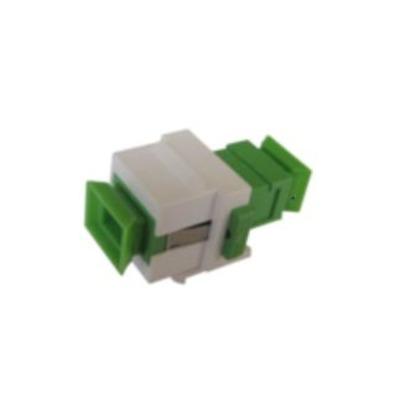 Microconnect FIBSCAPCKEY Fiber optic adapter - Groen, Wit