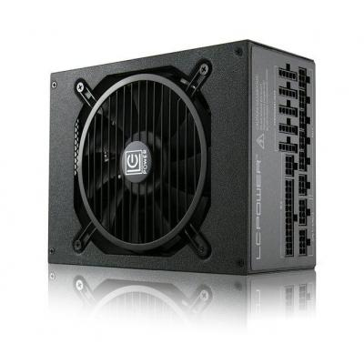 LC-Power 1200 W, 9 x SATA, 6 x PATA, 1 x 135 mm, ATX V2.4 Power supply unit - Zwart