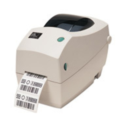 Zebra labelprinter: TLP2824 Plus - Wit