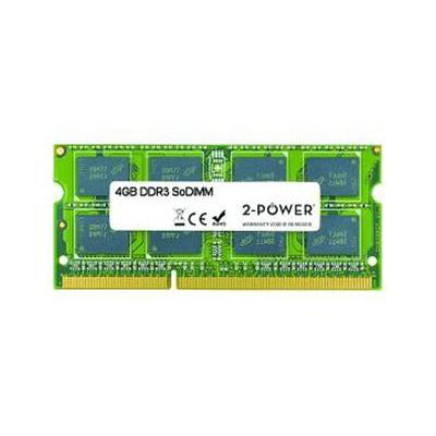 2-power RAM-geheugen: 4GB MultiSpeed 1066/1333/1600 MHz SoDiMM