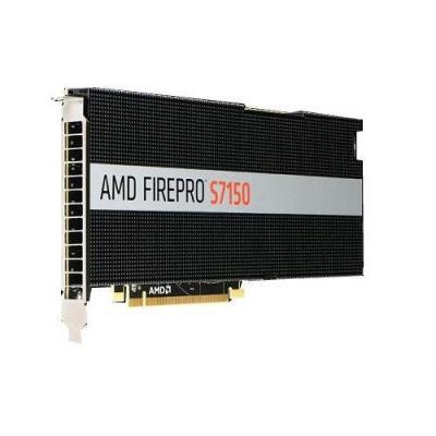 Dell videokaart: AMD FirePro S7150 - Zwart