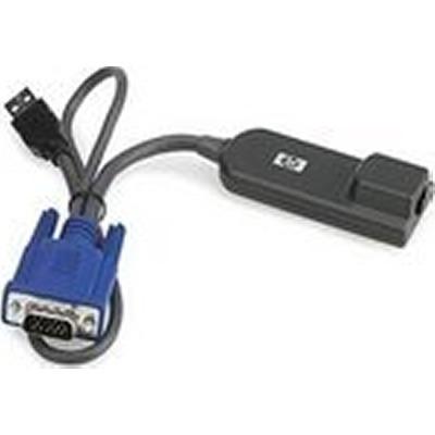 Hewlett Packard Enterprise HP X260 SIC-8AS RJ45 0.28m Router Cable Kabel adapter - Zwart