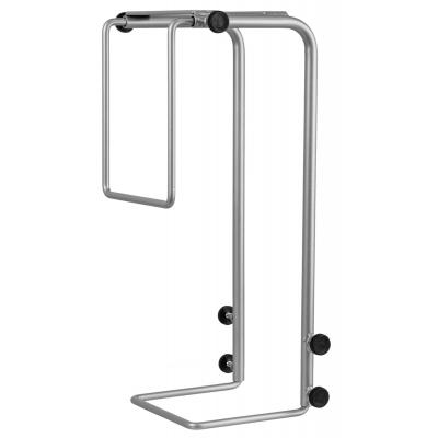 R-go tools cpu steun: Steel Basic CPU Holder, adjustable, silver - Zilver