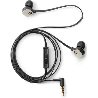 HP H2310 Headset - Zwart, Goud