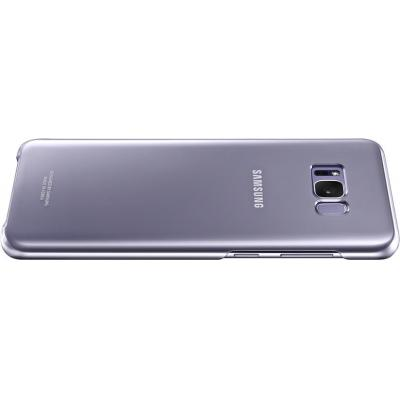 Samsung mobile phone case: Galaxy S8+ Clear Cover Violet
