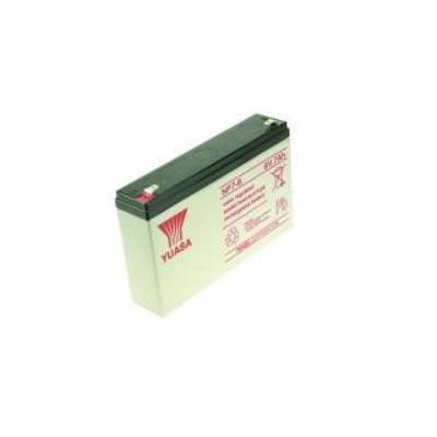 2-power UPS batterij: 6V 7000mAh - Zwart, Wit