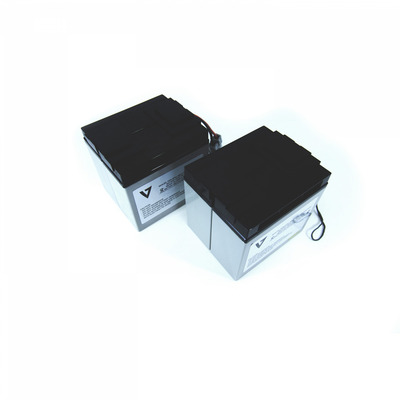 V7 RBC55 UPS UPS batterij - Zwart,Metallic