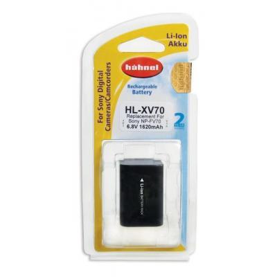 Hahnel batterij: HL-XV70 - Zwart