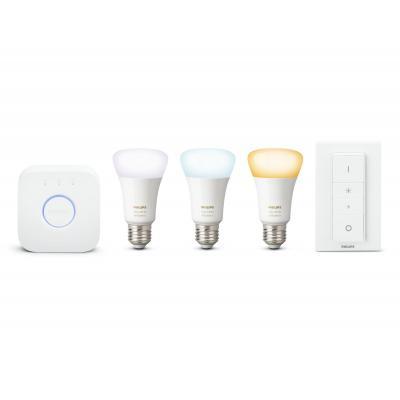 Philips personal wireless lighting: hue Hue, 220 - 240 V, 9.5 W, E27, A60, 2200-6500K, 25000 uur, 2400-2483.5 MHz, 1 x .....
