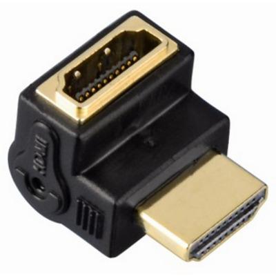 Hama HDMI M/F Kabel adapter - Zwart