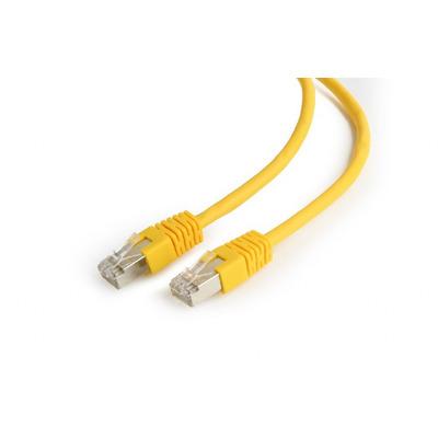 Gembird PP6-1M/Y UTP-kabels