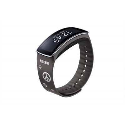 Samsung horloge-band: ET-SR350R - Grijs, Zilver