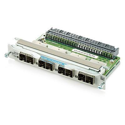 Hewlett Packard Enterprise 3800 4-port Stacking Module Switchcompnent - Grijs - Refurbished .....