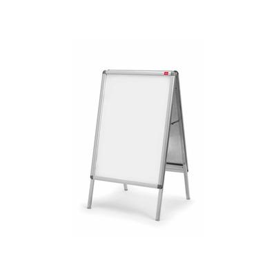 Nobo A2, 850 x 485 mm Prikbord - Zilver