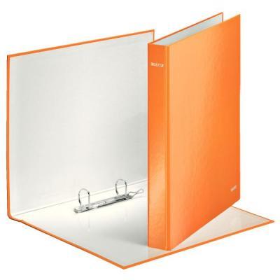 Leitz ringband: WOW gelamineerde ringband - Oranje