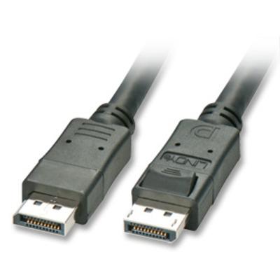 Lindy : 10m DisplayPort - Zwart