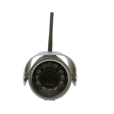 Foscam beveiligingscamera: FI9804W, 1.0MP, CMOS, 1280 x 720, 30fps, 12V - Zilver