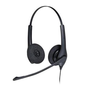 Jabra headset: BIZ 1500 Duo QD - Zwart