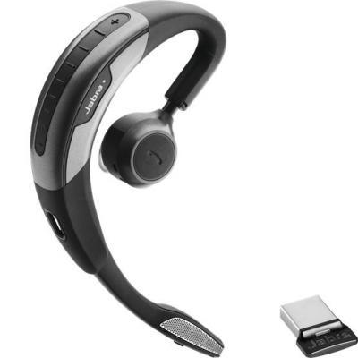 Jabra Motion UC+ Headset - Zwart, Zilver