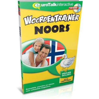 Eurotalk educatieve software: Woordentrainer, Noors