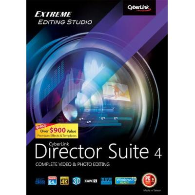 Cyberlink videosoftware: Director Suite 4