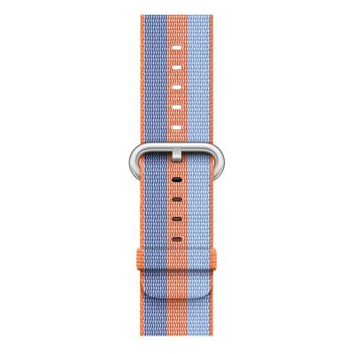 Apple : 42mm Orange Woven Nylon