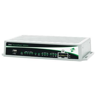 Digi celvormige router/gateway/modem: 10/100 Mbit/s, Full or Half duplex, Auto MDI/MDIX, RJ-45, USB 2.0, 9 – 36 VDC