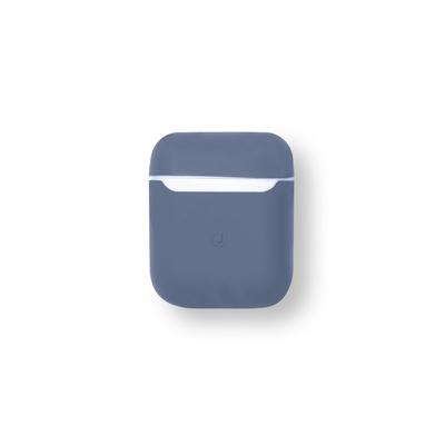 ESTUFF AirPods Silicone Case Koptelefoon accessoire - Blauw