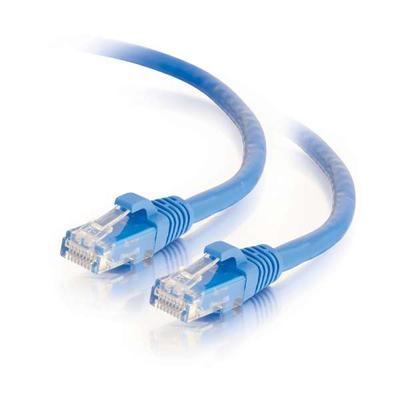 C2G 5m Cat6 Booted Unshielded (UTP) Low Smoke Zero Halogen (LSZH) netwerkpatchkabel - Blauw Netwerkkabel