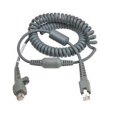 "Intermec CBL WAND 10PIN IND STR PERP 16.51 cm (6.5"") COIL IN (NMS) Signaal kabel - Grijs"
