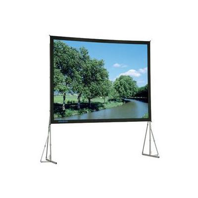Da-lite projectiescherm: Heavy Duty Fast-Fold Deluxe Surface 305 x 518 - Zwart