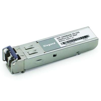 Legrand MSA-compatibel 1000Base-SX SFP (mini-GBIC) zendmodule (multimode, 850nm, 550m, LC) - TAA-compatibel .....