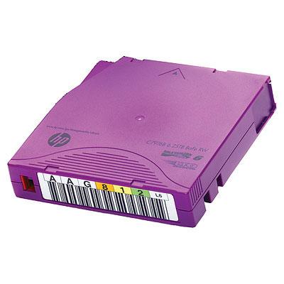 Hewlett Packard Enterprise HP LTO-6 Ultrium 6.25TB BaFe RW Non Custom Labeled Data Cartridges .....